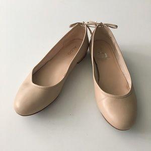 ALDO Back Tie Ballet Flats Shoes Size 6.5